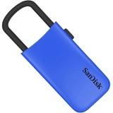 SANDISK Cruzer U 16GB [SDCZ59] - Blue - Usb Flash Disk / Drive Stylish